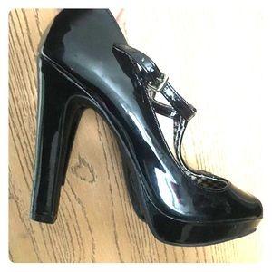 Black heels! Worn once!